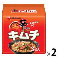 農心ジャパン 農心 辛ラーメンキムチ 3食パック 2個