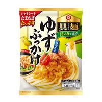 キッコーマン 具麺 ゆずぶっかけ 1セット(3袋入)麺用ソース めんつゆ