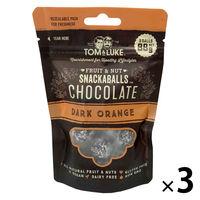 トム&ルーク フルーツ&ナッツチョコレートスナックボール ダークオレンジ 88g 3袋