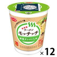 エースコック ラーメンモッチッチ 野菜タンメンしお 1セット(12個)