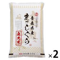 青森県産 まっしぐら 10kg(5kg×2) 【無洗米】 令和2年産 米 お米
