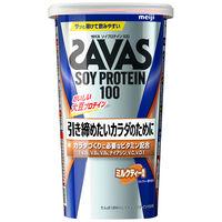 ザバス(SAVAS) ソイプロテイン100 ミルクティー風味 11食分 明治 プロテイン