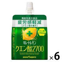 ポッカサッポロ キレートレモンクエン酸2700ゼリー165g 6個