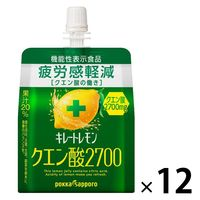 ポッカサッポロ キレートレモンクエン酸2700ゼリー165g 12個