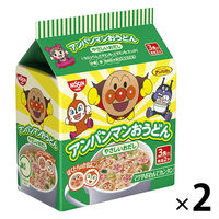 日清食品 アンパンマンおうどん やさしいおだし(3食入) 2個