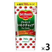デルモンテ トマトケチャップ For Daily 3本