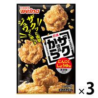 日清フーズ 日清から揚げ粉逸品にんにくしょうゆ味黒胡椒仕立て(100g) ×3個