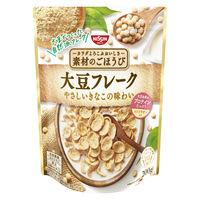 日清シスコ 素材のごほうび 大豆フレーク 1袋 シリアル