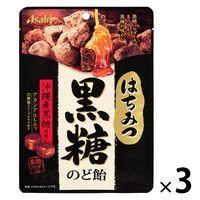 はちみつ黒糖のど飴 1セット(3袋) アサヒグループ食品