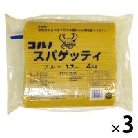 コルノマカロニ スパゲッティ ブルー 1.7mm 4Kg 3袋