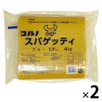 コルノマカロニ スパゲッティ ブルー 1.7mm 4Kg 2袋