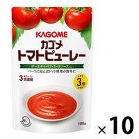 カゴメ トマトピューレー 100g 10個