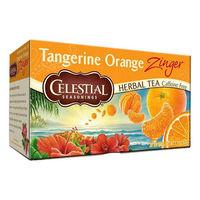 【ノンカフェイン】セレッシャル タンジェリンオレンジジンガー ティーバッグ 1箱(20バッグ入)