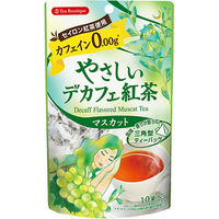 ティーブティック やさしいデカフェ紅茶 マスカット 1袋(10バッグ入)