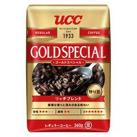 【コーヒー豆】UCC上島珈琲 炒り豆ゴールドスペシャル リッチブレンド 1袋(360g)