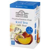 アーマッド AHMAD TEA(アーマッドティー) コールドブリュー ティーバッグ ピーチパッション 1箱(20バッグ入)