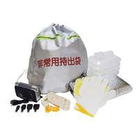 アオヤギコーポレーション 反射テープ付非常用持出袋セットNBS-050 36675 1個(直送品)