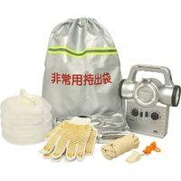 アオヤギコーポレーション 反射テープ付非常用持出袋セットNBS-010 36679 1個(直送品)