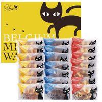 【ギフト包装】 ヤバケイ イーペルの猫祭りベルギーミニワッフル YJ-BW 1個(直送品)