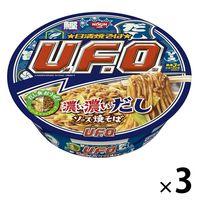 日清焼そばU.F.O. 濃い濃いだしソース焼そば 1セット(3食)