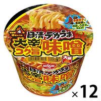 日清デカうま 大辛コク旨味噌 1セット(12食)