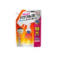 キュキュット CLEAR泡スプレー オレンジ 詰め替え 大容量 720ml 1個 食器用洗剤 花王