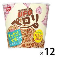 日清食品 日清焼そばU.F.O. ペロリ バター香るたらこ味 1セット(12食)