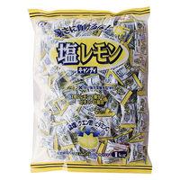 桃太郎製菓 1kg 塩レモンキャンディ 1袋 塩飴
