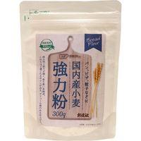 創健社 国内産小麦 強力粉 300g 130494 1セット(300g×20)(直送品)