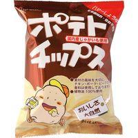 創健社 ポテトチップス バターしょうゆ味 60g 160453 1セット(60g×20)(直送品)