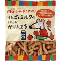 創健社 メイシーちゃん(TM)のおきにいり りんごとミルクのやわらかかりんとう 50g 161141 1セット(50g×12)(直送品)