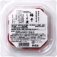 創健社 国産特別栽培南高梅 しそ漬 120g 40237 1セット(120g×12)(直送品)