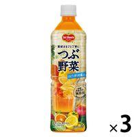 キッコーマン飲料 デルモンテ つぶ野菜まるごと搾り柑橘mix 900g 1セット(3本) 【野菜ジュース】