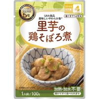 アルファフーズ UAA 美味しいやわらか食 里芋の鶏そぼろ煮 50袋/箱 4082121236 1箱(50袋)(直送品)