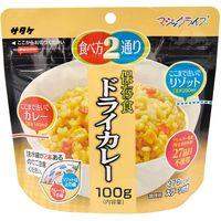 サタケ 長期備蓄用非常食 マジックライス ドライカレー 20袋/箱 4082152774 1箱(20袋)(直送品)