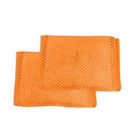 アイスリー工業 カラフル・クリーン オレンジ 2個組 3567 1セット(2個×100入)(取寄品)