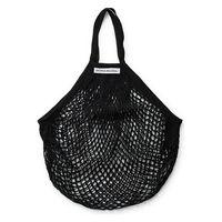 DEAN&DELUCA(ディーンアンドデルーカ) ネットバッグ ブラック 1個 エコバッグ ショッピングバッグ 収納バッグ
