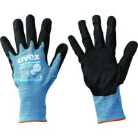 UVEX(ウベックス) UVEX 耐切創手袋 フィノミック エアライト C ESD S 6008467 1双 206-7437(直送品)