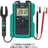 イチネンTASCO AC/DCクランプ付デジタルマルチメータ TA452TM 1セット(2個)(直送品)