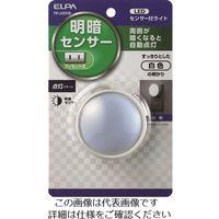 朝日電器 ELPA LEDセンサー付ライト PM-LA201(W) 1個 202-4610(直送品)