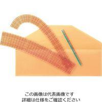 クロバー(CLOVER) クロバー カーブ定規 25-051 1セット(5袋:1袋×5個) 166-1659(直送品)