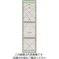 クロバー(CLOVER) クロバー ストリップ定規 カラーライン30cm 57-928 1セット(5枚:1枚×5個) 166-3173(直送品)