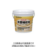セメダイン 木工パテA 1kg/ポリ缶 タモ白 HC157 HC-157 1セット(6缶) 813-5035(直送品)