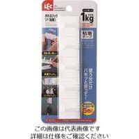 レック(LEC) レック 折れるフック5P(粘着) H-672 1セット(10個) 216-3838(直送品)