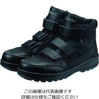 シモン(Simon) シモン 耐滑・軽量・プロテクティブスニーカー SL28黒 23.5cm SL28-B 23.5 1足 195-4844(直送品)