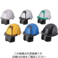 トーヨーセフティ ヘルメット ヴェンティープラス 紺 NO.391F-S-S-NY 118-3104(直送品)