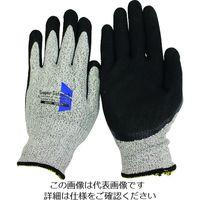 おたふく手袋 おたふく ソフキャッチ EX-FIT セーフティ ニトリル クレーターパーム LL A-352-LL 1双 207-0508(直送品)