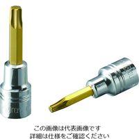 京都機械工具 ネプロス 6.3トルクスビットソケットT8 NQ4T8 1個 206-8638(直送品)