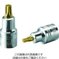 京都機械工具 ネプロス 6.3スタッビトルクスビットT20 NQ4T20SS 1個 206-8634(直送品)