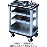 京都機械工具 KTC ツールステーションセット(一般機械整備用)固定式2段トレイ SK5021M 1セット 167-7960(直送品)